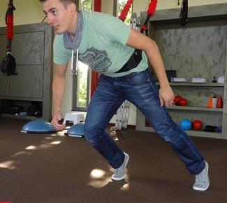 Knie training