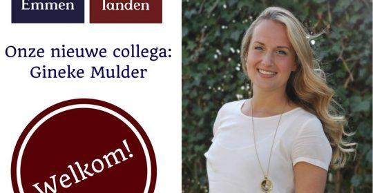 Nieuwe collega Gineke Mulder
